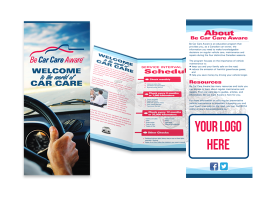 Custom Branded (logo) Service Brochure – SPONSORS ONLY