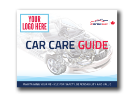Custom Branded (logo) Car Care Guides – SPONSORS ONLY